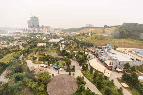 Legoland Malaysia Imagination Observation Tower View