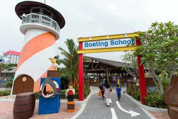 Legoland Malaysia LEGO City Boating School Entrance