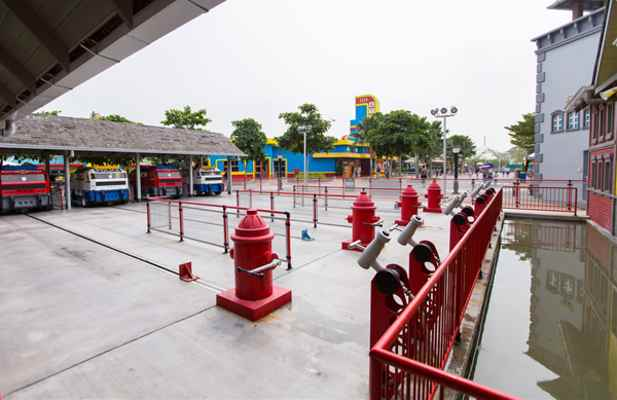 Legoland Malaysia LEGO City Fire Rescue Academy