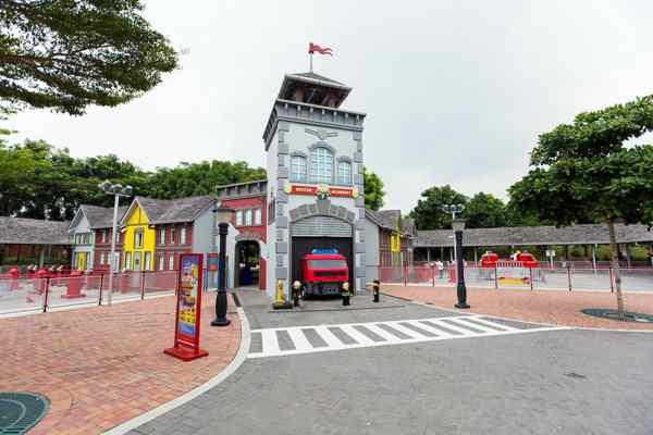 Legoland Malaysia LEGO City Rescue Academy Entrance