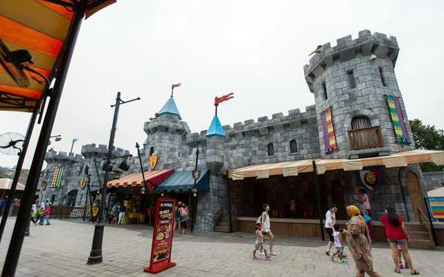 Legoland Malaysia LEGO Kingdoms Castle Stage