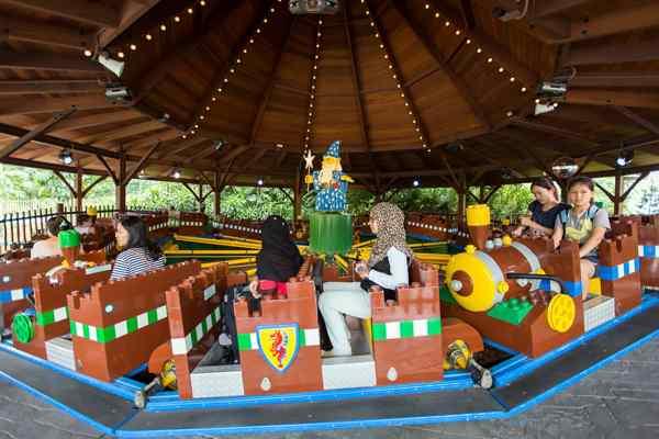 Legoland Malaysia LEGO Kingdoms Merlin Challenge