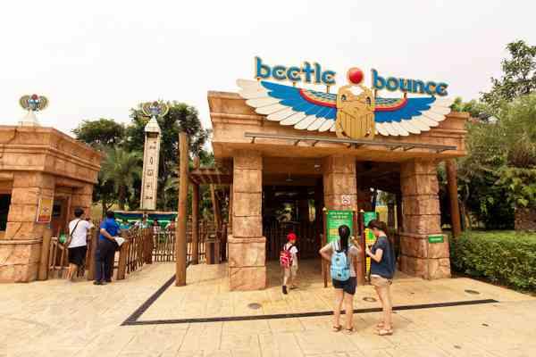 Legoland Malaysia Land of Adventure (Beetle Bounce)