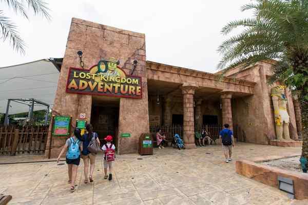 Legoland Malaysia Land of Adventure (Lost Kingdom Adventure)