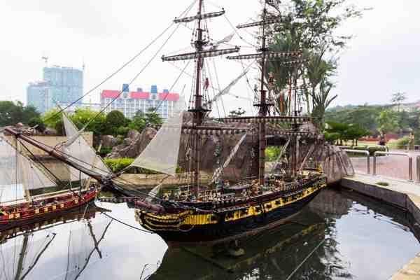 Legoland Malaysia Miniland (Pirates)