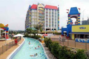 Legoland Malaysia Water Park Build-A-Raft River