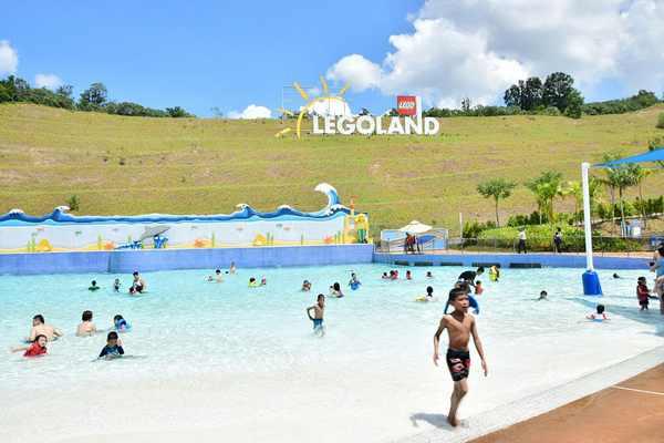 Legoland Malaysia Water Park LEGO Wave Pool